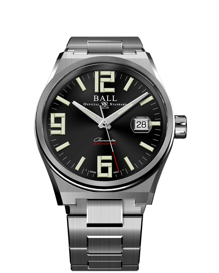 PREORDER BALL NM9030B-S1C-BK Roadmaster M Icebreaker LIMITED EDITION Arabic 40mm COSC Watch