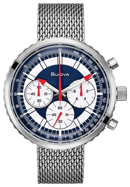 Bulova 96K101 SPECIAL EDITION Chronograph Automatic Apollo 15 Watch LIMITED QUANITY