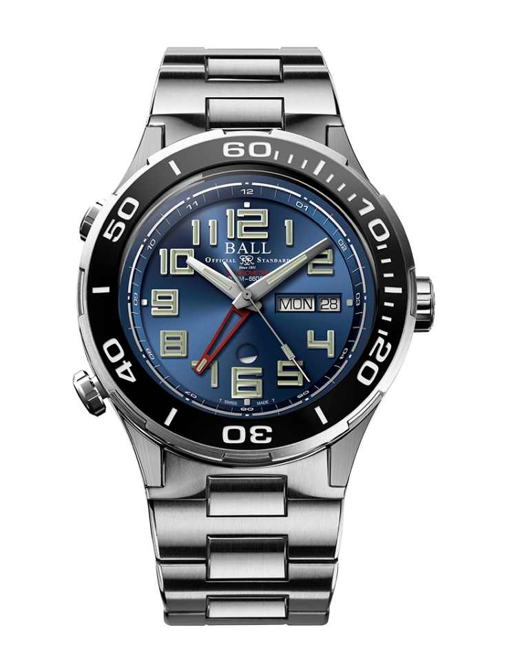 BALL DG3036B-S1C-BE Roadmaster Vanguard LIMITED EDITION 40mm Watch