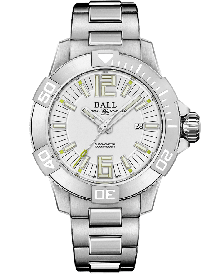 PREORDER BALL DM3002A-S2C-WH Engineer Hydrocarbon DeepQUEST II 42mm Watch