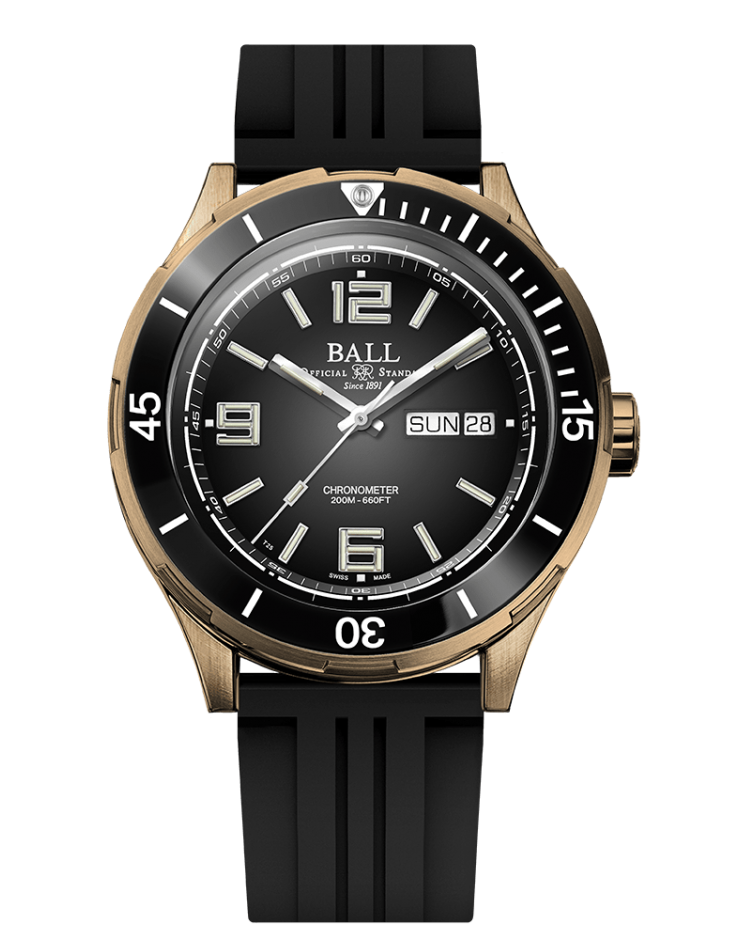 BALL DM3070B-P1CJ-BK LIMITED EDITION Roadmaster Archangel Bronze 42mm Watch