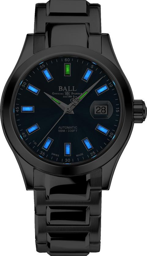 BALL NM2026C-S23J-BK Engineer III Marvelight Black Dial Watch