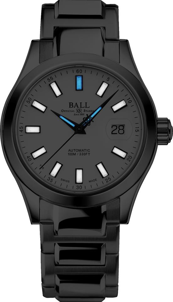 BALL NM2026C-S23J-WH Engineer III Marvelight 40mm Watch