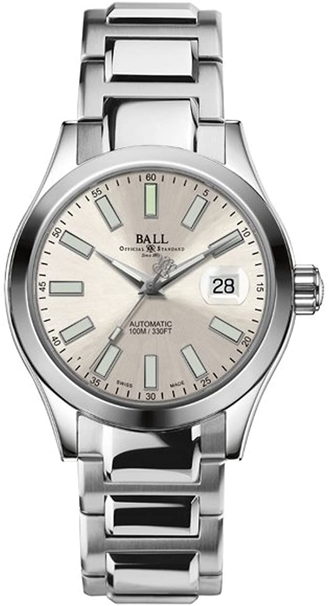 BALL NM2026C-S6-SL Engineer II Marvelight 40mm Silver Watch