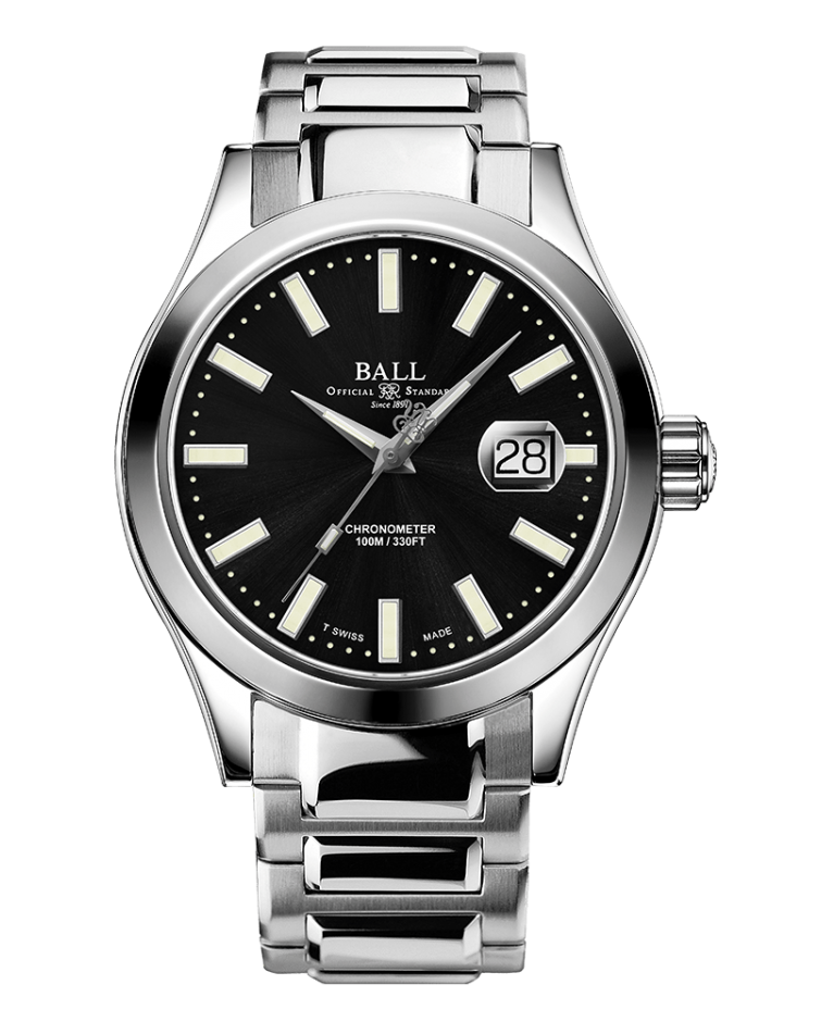 BALL NM2028C-S27C-BK Engineer III Marvelight Limited Edition 43mm Watch