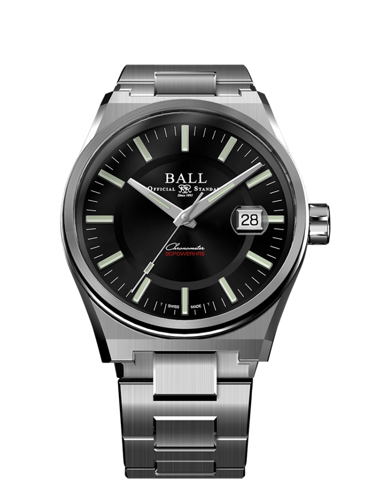 BALL NM9030B-SC-BK Roadmaster M Icebreaker 40mm Limited Watch