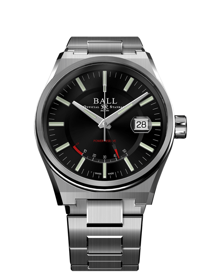 BALL PM3030C-S-BK Roadmaster Icebreaker 40mm Limited Ed Watch