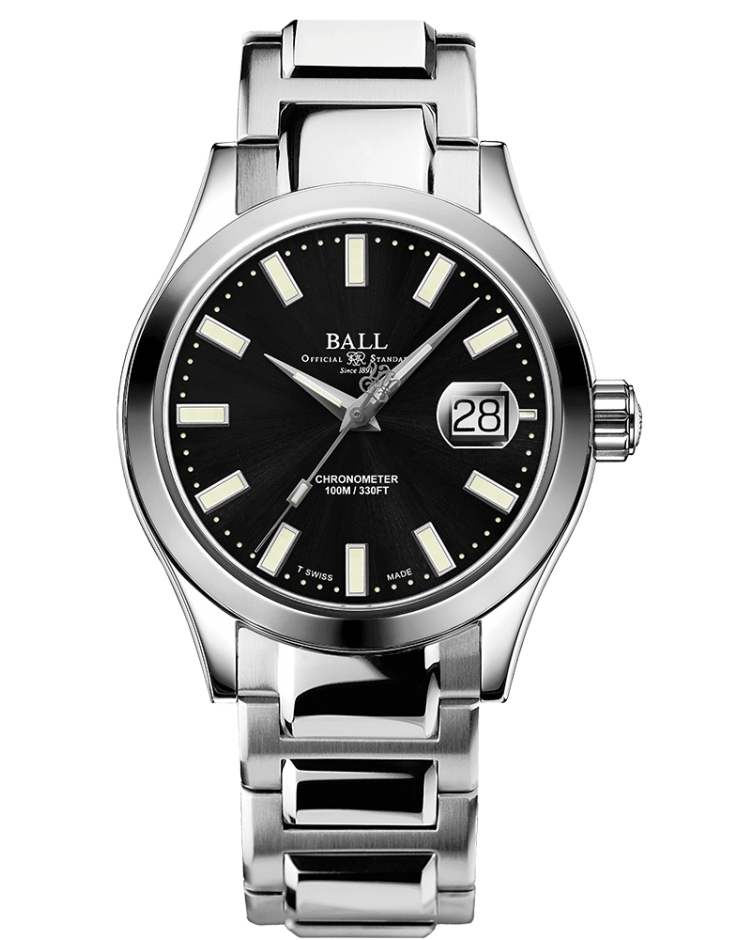 BALL NM2026C-S27C-BK Engineer III Marvelight LIMITED EDITION Automatic Chronometer 40mm Black Dial Watch