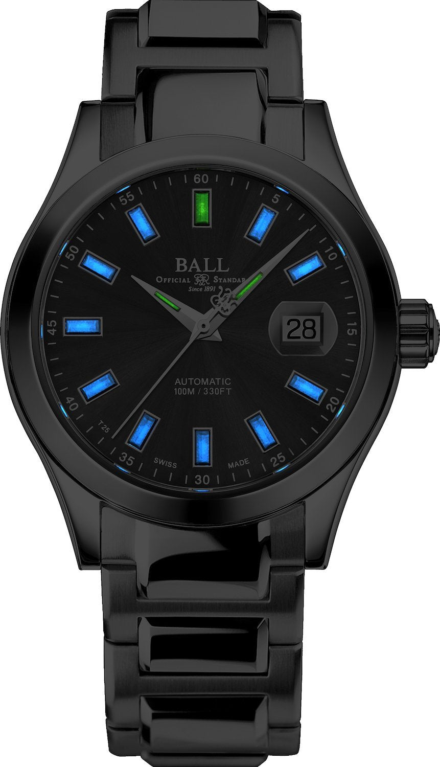 BALL NM2026C-S23J-GY Engineer III Marvelight 40mm Grey Dial Watch