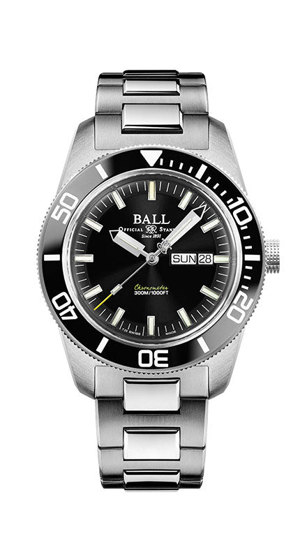 BALL DM3308A-SC-BK Master II Skindiver Heritage Watch