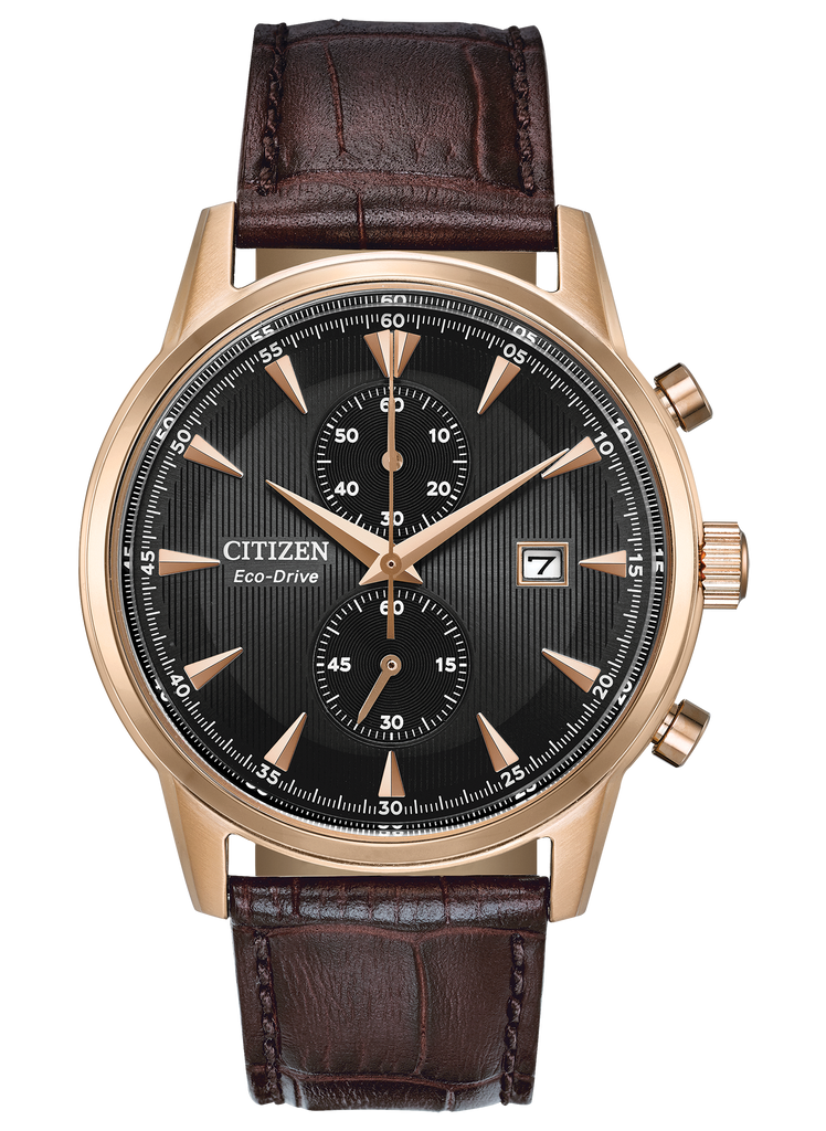 Citizen CA7003-06E Corso Leather Strap Eco-Drive Watch