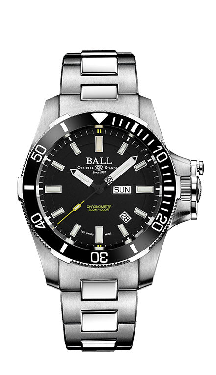 BALL DM2236A-SCJ-BK Submarine Warfare Hydrocarbon Ceramic Bezel Watch