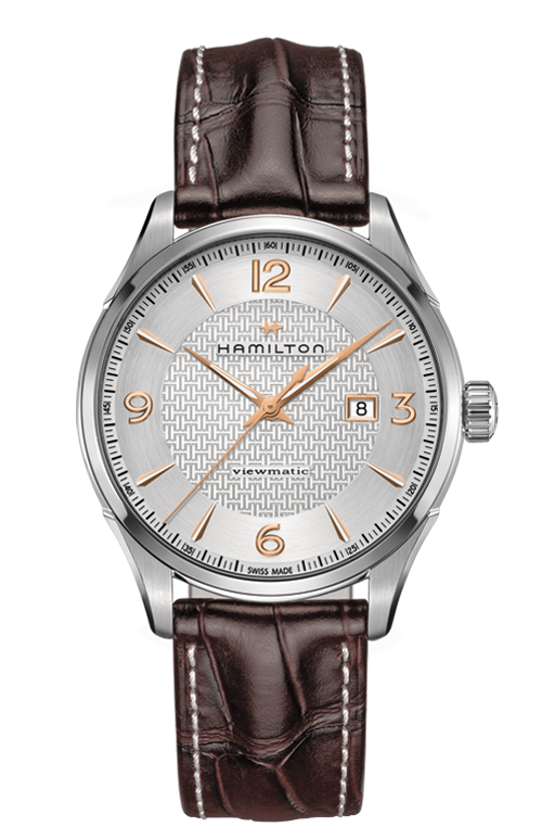Hamilton Jazzmaster H32755551 Automatic Leather Watch