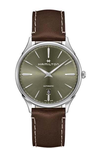 Hamilton Jazzmaster H38525561 Thinline  Green Dial Automatic Watch