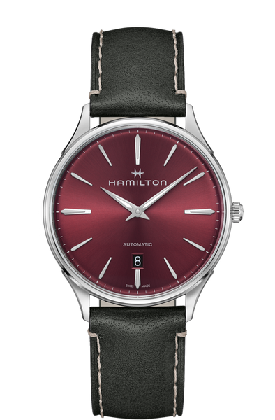 Hamilton Jazzmaster H38525771 Thinline Red Dial Automatic Watch