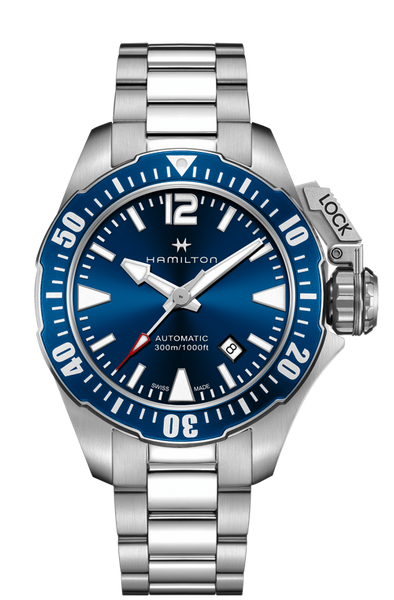 Hamilton Khaki Navy H77705145 Frogman Automatic Watch