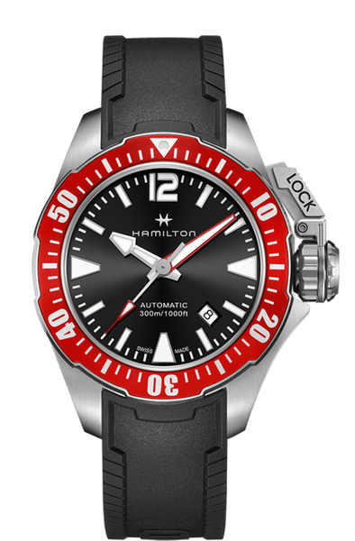 Hamilton Khaki Navy H77725335 Frogman Automatic Watch