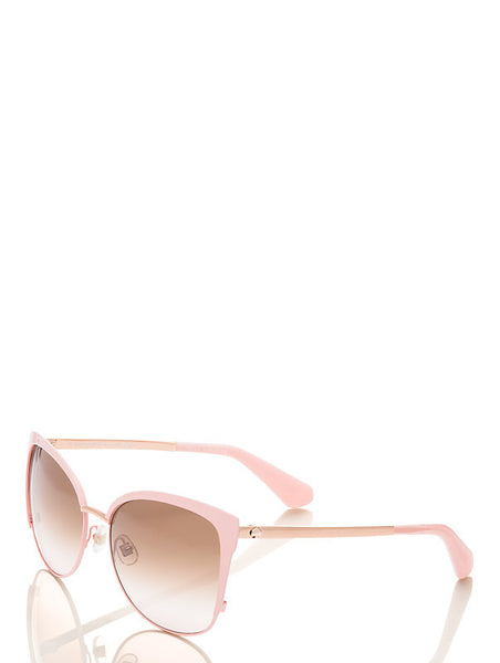 Kate Spade New York Genice Pink/Gold Sunglasses