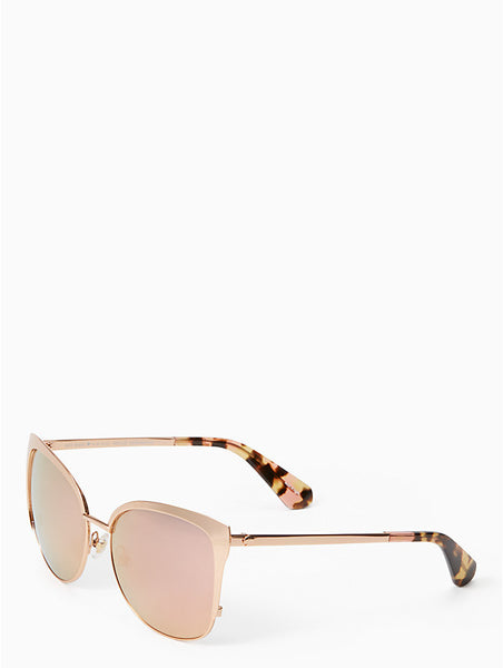 Kate Spade New York Genice Rose Gold Sunglasses