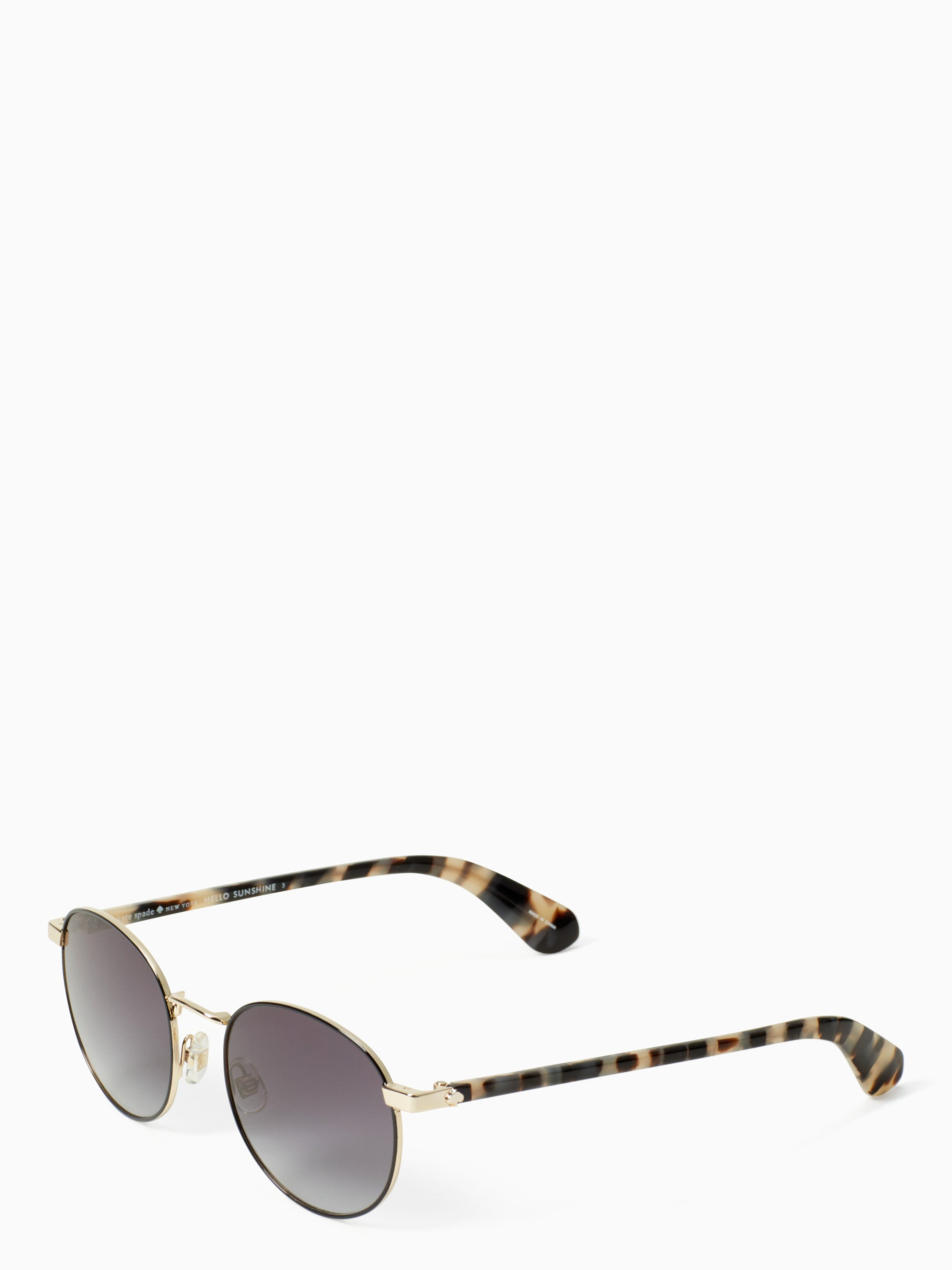 Kate Spade New York Adelais Black Havana Sunglasses