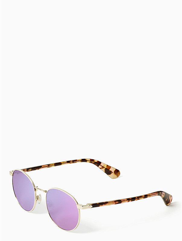 Kate Spade New York Adelais Pink Havana Sunglasses