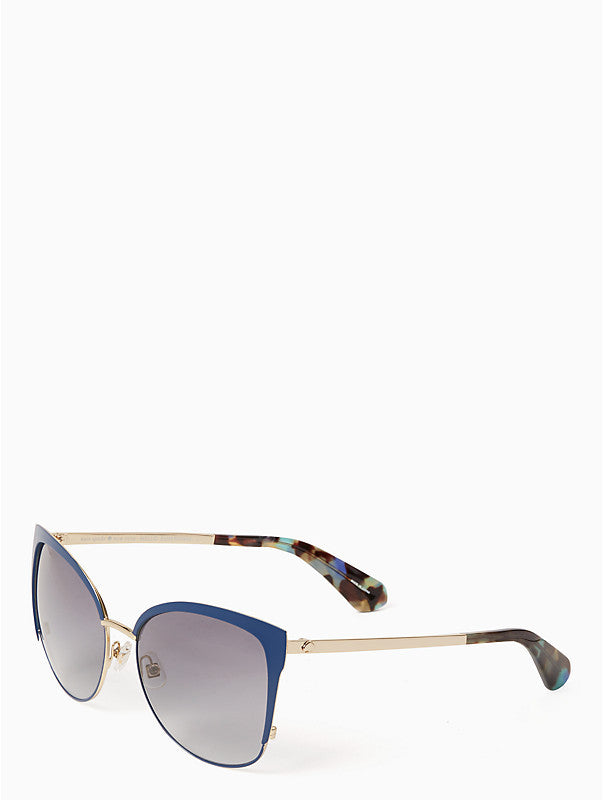 Kate Spade New York Genice Navy Sunglasses