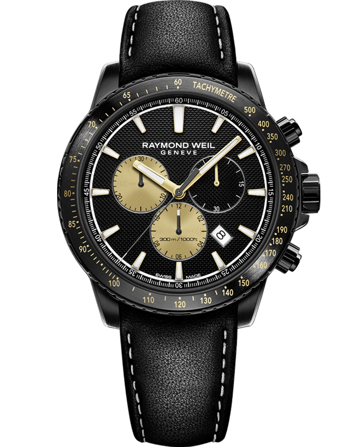 Raymond Weil Tango 8570-BKC-MARS1 LIMITED EDITION Marshall Amplification Black Chronograph Watch