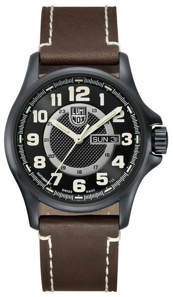 Luminox 1807 Mens Field Automatic Day Date Watch