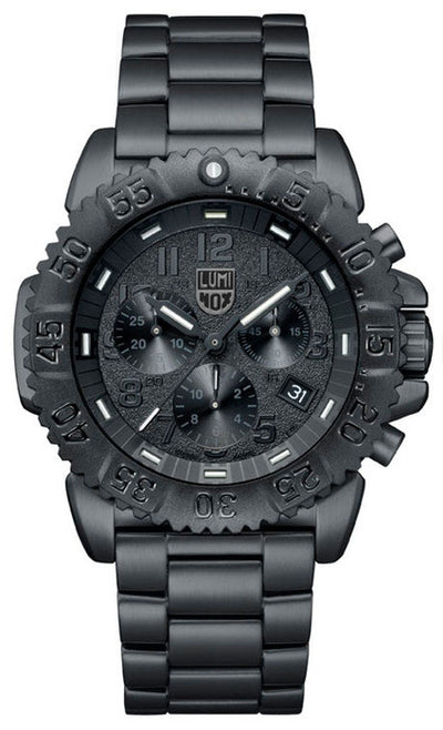 Luminox 3182.BO Mens Navy SEAL Steel Colormark Chronograph Watch