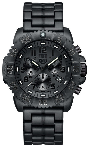 Luminox 3082.BO Mens Navy SEAL Colormark Chronograph Watch
