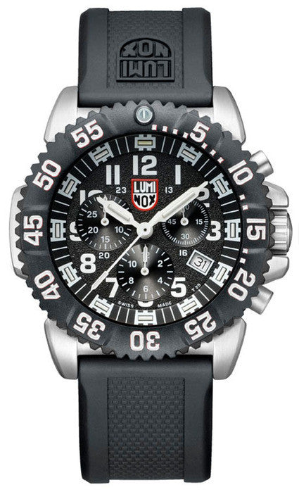 Luminox 3181 Mens Navy SEAL Steel Colormark Chronograph Watch