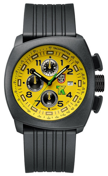 Luminox 1105 Mens Tony Kanaan PC Carbon Chronograph Watch
