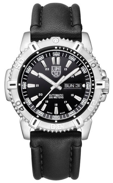 Luminox 6501 Mens Modern Mariner Automatic Leather Watch