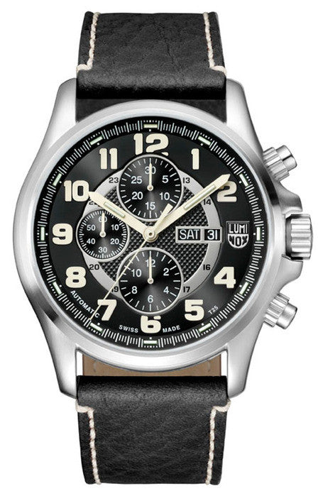 Luminox 1861 Mens Field Valjoux Automatic Chronograph Watch