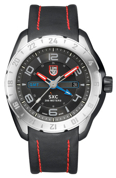 Luminox 5127 Mens XCOR/SXC Steel GMT Watch