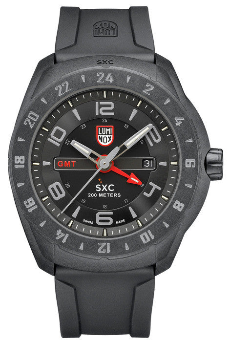 Luminox 5021.GN Mens XCOR/SXC PC Carbon GMT Watch