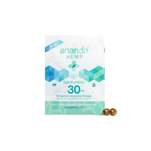 Ananda Hemp Full Spectrum CBD Softgels - 2 Pk. - thehemphaus