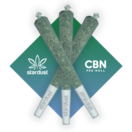 This is a photos three 1.5 gram Gelato Hemp CBD Flower pre roll infused with 100 mg of CBN isolate (cannabinol) grown in a light assisted green house packed with cannabinoids and terpenes to give it that beautiful look, smell, and taste just like the original but with a unique punch that only CBN can deliver!    - thehemphaus