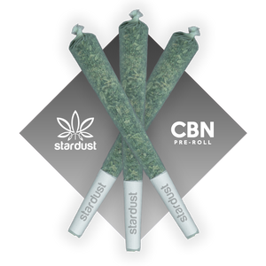 This is a photos of three 1.5 gram White Widow Hemp CBD Flower pre roll infused with 100 mg of CBN isolate (cannabinol) grown in a light assisted green house packed with cannabinoids and terpenes to give it that beautiful look, smell, and taste just like the original but with a unique punch that only CBN can deliver! - thehemphaus