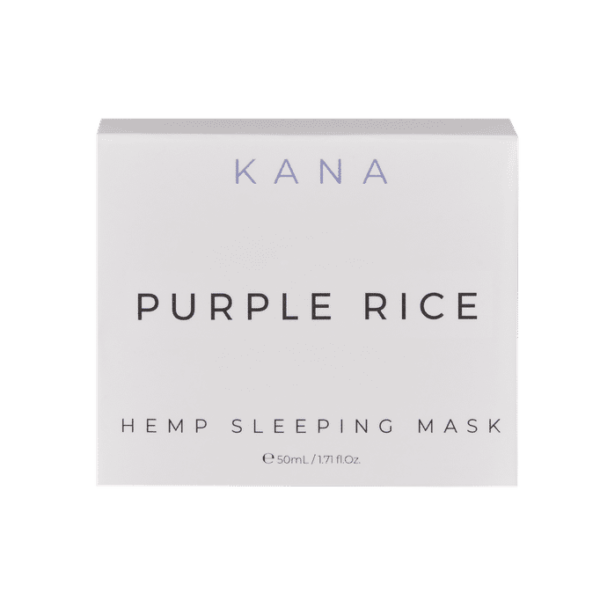 Kana Purple Rice CBD (Hemp Phytocannabinoid) Sleeping Mask 50mg - thehemphaus