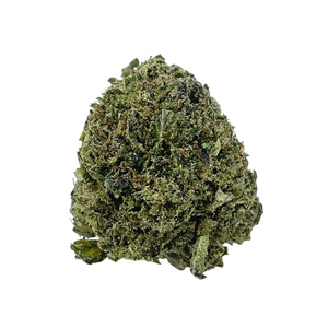 One Bud of the Delta 8 THC Flower Bubba Kush CBD flower brought to you by Stardust Hemp sold at The Hemp Haus CBD Store Near me & Delta 8 Store Near Me. - thehemphaus