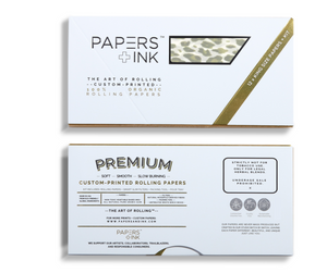 Papers + Ink Leopard Rolling Paper Kit - thehemphaus