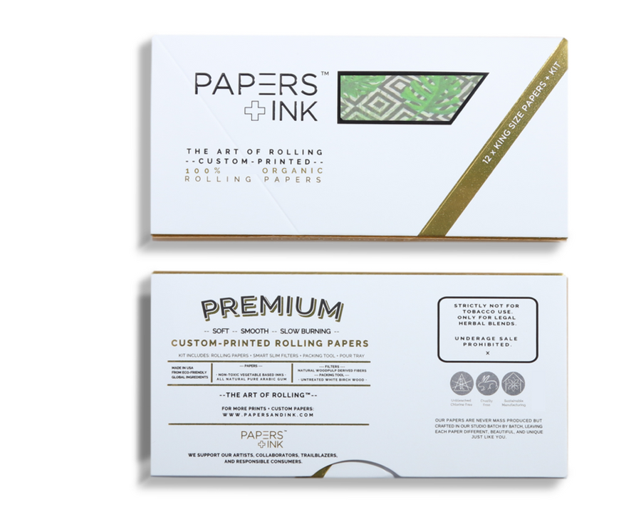 Papers + Ink Rio de Janeiro Rolling Papers Kit - thehemphaus