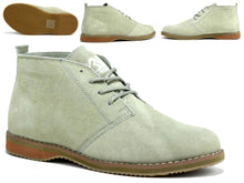 Load image into Gallery viewer, Men's Suede Desert Boot Beige