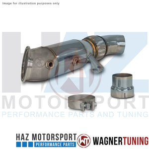 BMW F-Series B58 Catted Downpipe Kit Wagner Tuning 500001027