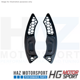 HG Motorsport Paddle Shifter Extentions Honey Comb Design VW Golf MK7 R/GTI/GTD
