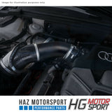 "HG Motorsport 3"" Intake Hard Pipe Kit For Audi A4 S4 A5 S5 B8 3.0 TFSI 272/333HP"