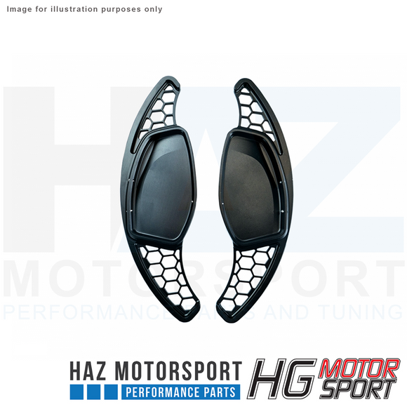 HG Motorsport Shift Paddles HG Design Honeycomb Style for Audi RS & S-Line