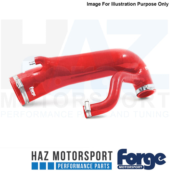 Forge Motorsport Inlet Hose for Peugeot 208 GTI Red