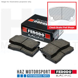 Ferodo Racing DS2500 Rear Brake Pads FRP3143H (Please check brake pad shape)